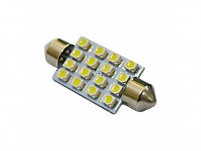 LED AUTOŽIAROVKA C5W, 16 X LED, 39MM