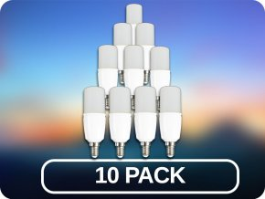 10 PACK - E14 LED ŽIAROVKA 6W, r50