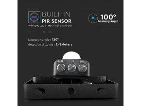 10W LED reflektor so senzorom SMD, SAMSUNG chip
