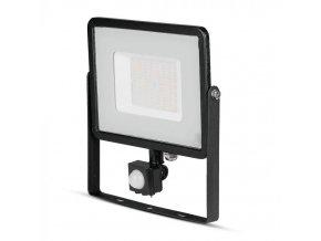 50W LED reflektor so senzorom SMD, SAMSUNG chip, čierny