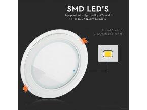 LED panel okrúhly, 18W, 1260lm  + Zdarma záruka okamžitej výmeny !