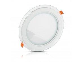 LED panel okrúhly, 18W, 1260lm, Ø20cm