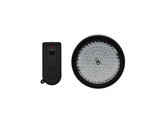 Światło LED z pilotem, 5 diod LED, na 3 baterie AA