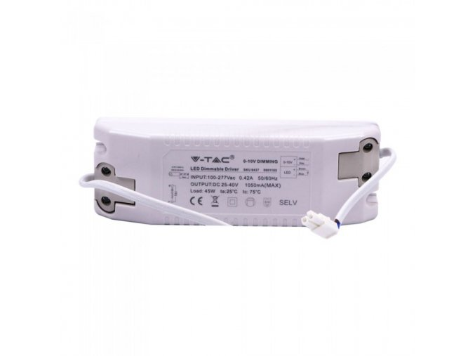 Adapter ściemnialny 45 W (0-10V) do paneli LED V-TAC