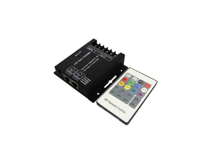 LED RGB KONTROLER/ŚCIEMNIACZ, 3 kanały, 12V: 288W, 24V:576W
