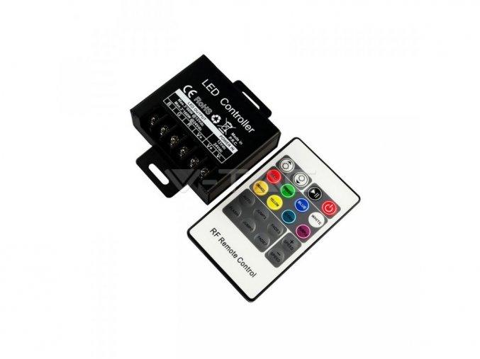 Sterownik LED RGB RF, 20 przycisków, 240W