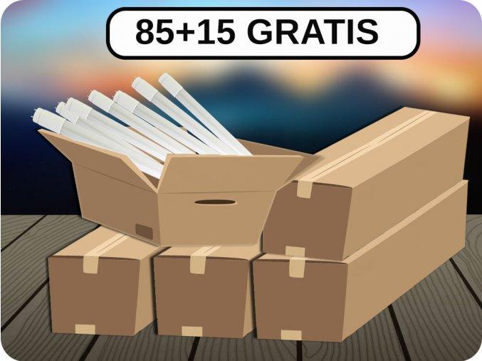 LED ŚWIETLÓWKA T8, 22W (2000LM), 150CM, G13, SAMSUNG CHIP, 85+15 GRATIS!