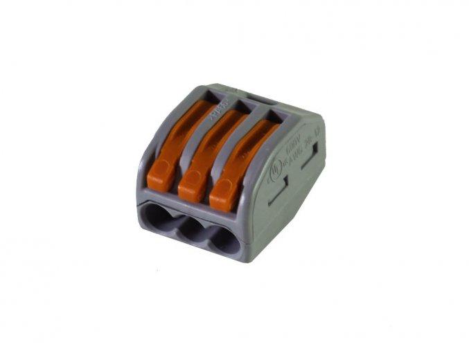 Złącze kablowe, 3 piny, 32A
