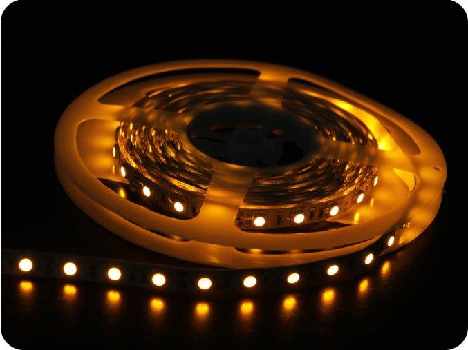 LED Taśma 10,8W/m, SMD 5050, 60LED/m, żółta