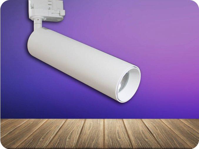LED LAMPA SZYNOWA COB 7W (420 LM), 24°,  SAMSUNG CHIP, biała