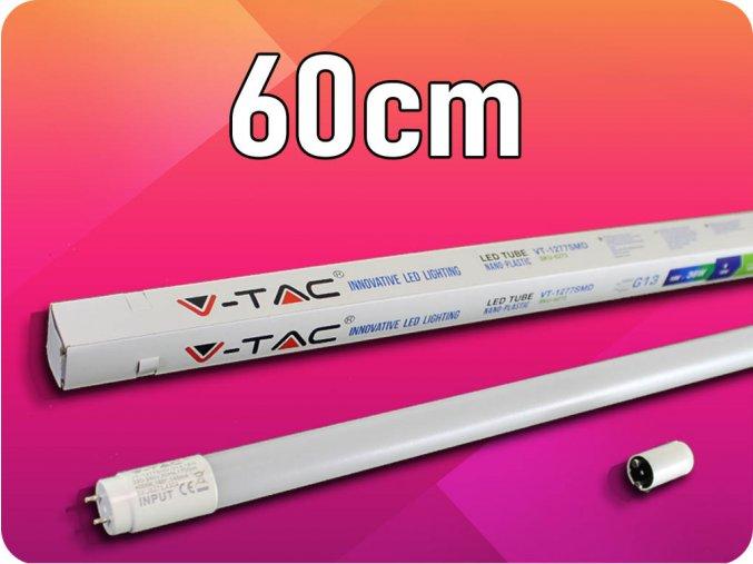T8 LED Świetlówka 10W (850LM), G13, 60CM
