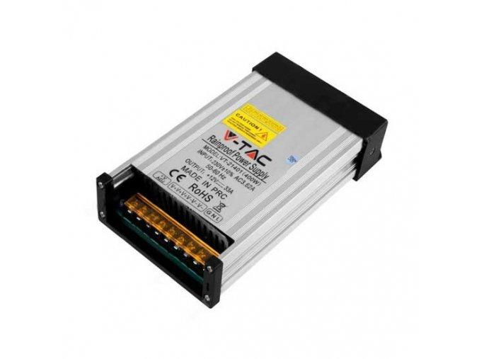 ZASILACZ METALOWY DO TAŚM LED 400W/33, 33A, IP45