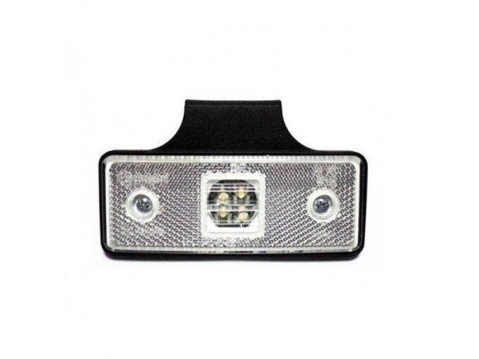 Znacznik boczny 2xLED światło do ciężarówki, 12-24V
