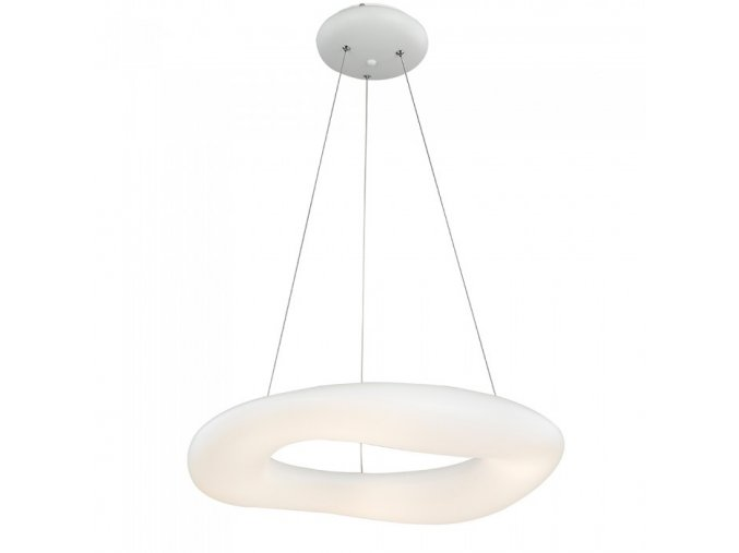 LED Lampa wisząca 32W (3100LM) z funkcją zmiany i przyciemniania światłA, biała