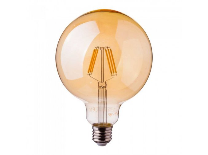 E27 LED RETRO FILAMENT ŻARÓWKA 6W (725lm), G125, SAMSUNG CHIP