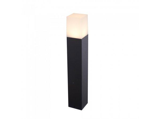 Ogrodowa lampa LED 1xGU10, 50 cm, czarno biała, IP54