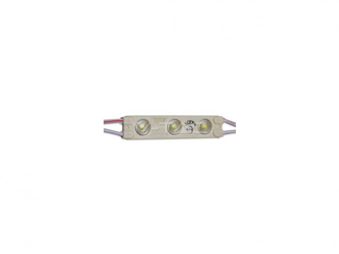Moduł LED SMD2835 3LED, 6000K, IP65, niebieski
