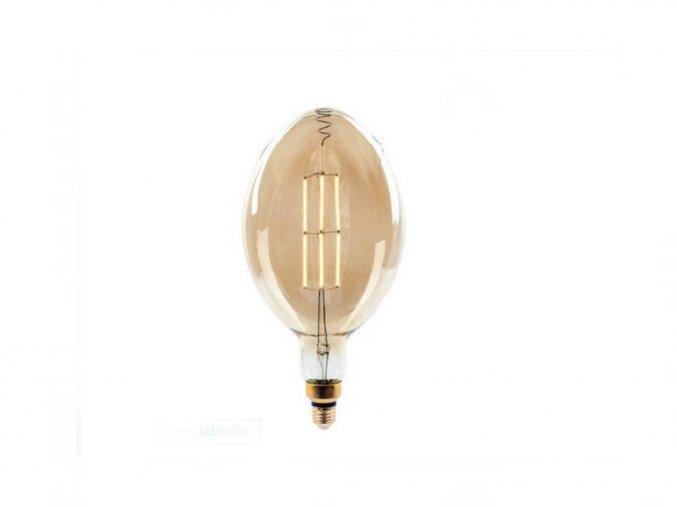 LED E27 Żarówka retro 8W (600Lm), BF180, ściemnialna, 2000K