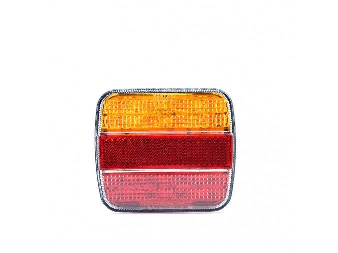 Tylne światło 20xLED na ciężarówce, 12-24V, po lewej i prawej stronie