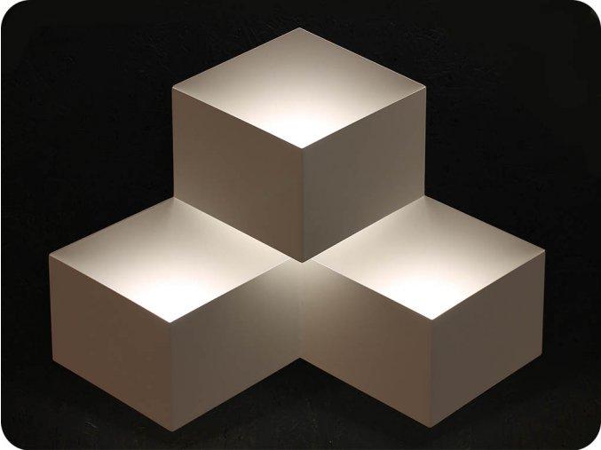 LED KINKIET  potrójny 9W (990 LM),  biały, 4000K