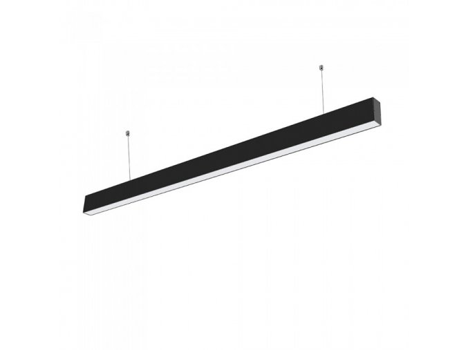 LED Liniowa lampa wisząca  40W, czarna, SAMSUNG chip
