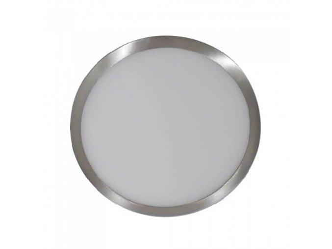 Panel zasilający LED, 6W (420Lm), satyna nikiel, okrągły