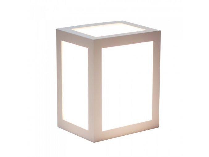 LED LAMPA ŚCIENNA 12W (750LM),  biała, IP65, 3000K
