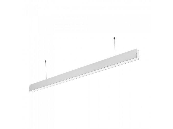 Liniowa lampa wisząca LED 40W, biała, SAMSUNG chip, 4000K