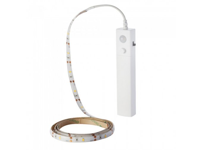 Taśma LED 1m 2W z czujnikiem ruchu (4xAAA)