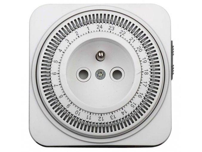 Wyłącznik czasowy Solight, 24 h, przełącznik, 1 tryb