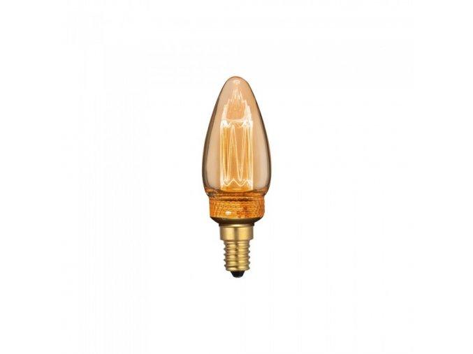 Żarówka E14 LED ART FILAMENT 2W (65 Lm), 1800K