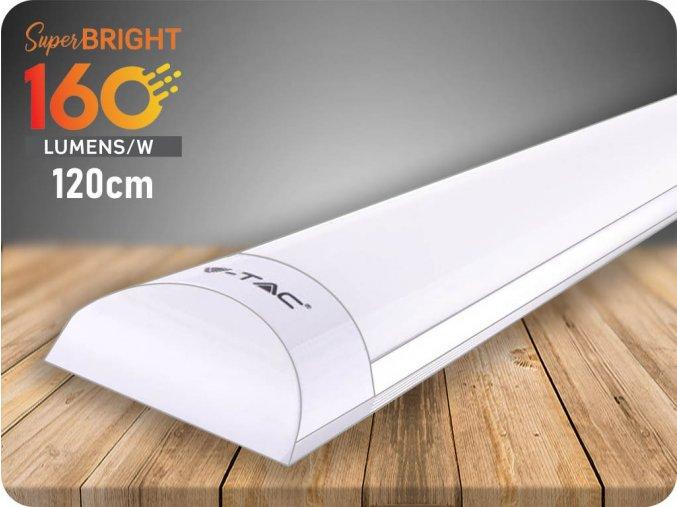 Pryzmatyczna lampa LED o wysokim świetle, 30W, 4800 lm (160 lm/W), 120 cm