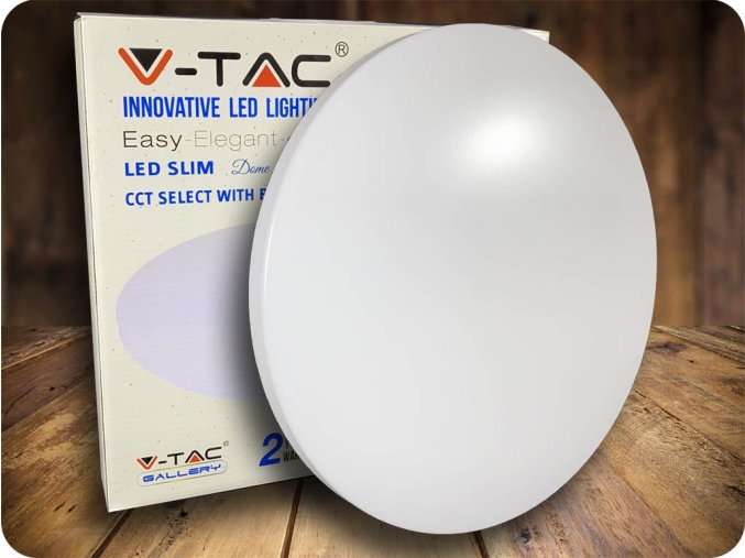 Lampa sufitowa LED 18W (1080lm), zmiana koloru 3000K-6000K