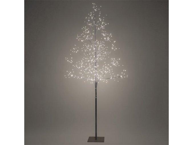 Drzewko zewnętrzne Solight LED, 150cm, 360 LED, ciepłe białe światło, kolor brązowy
