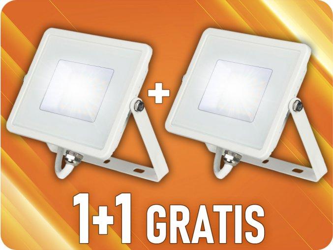 LED NAŚWIETLACZ 30W (2400LM), SAMSUNG CHIP, 1+1 gratis!