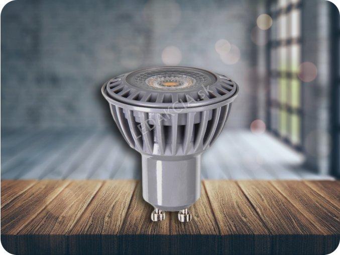 GU10 Żarówka LED 6W, 110°, biała ciepła, ściemniana