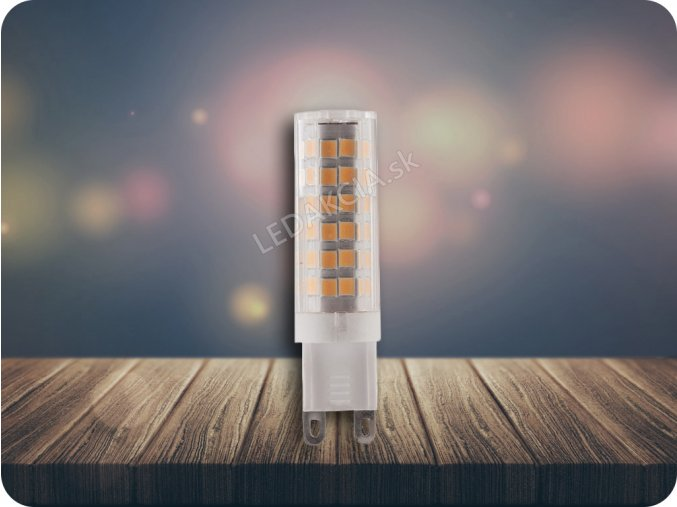 G9 Żarówka LED 6W,  ciepła biała