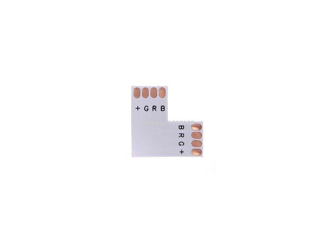 ´´ L ´´ KONEKTOR do taśm LED - RGB - 10MM