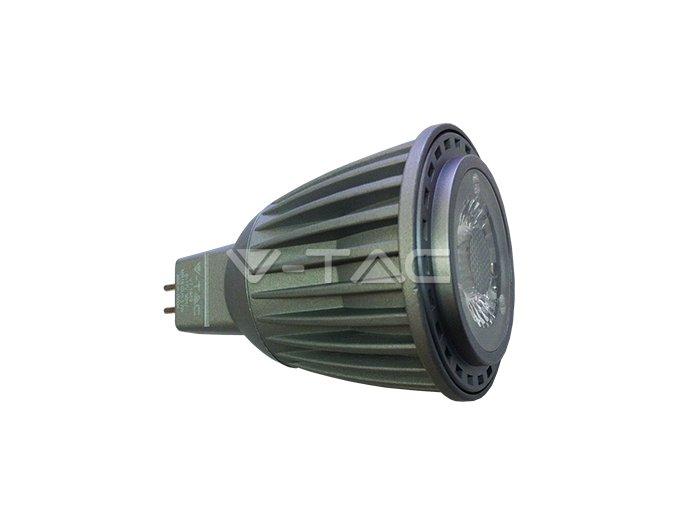 MR16 (GU5.3) Żarówka LED 7W, 12V, SHARP COB, ciepła biała 3000K