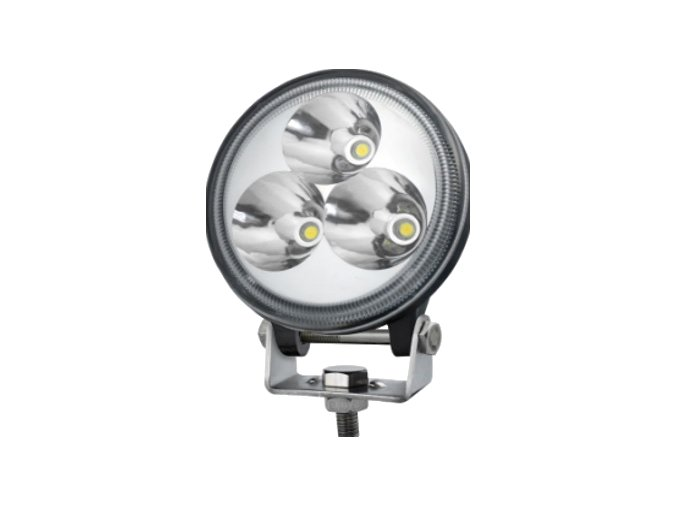 LED Epistar Lampa robocza, 9W (600lm), 12-24V, IP67