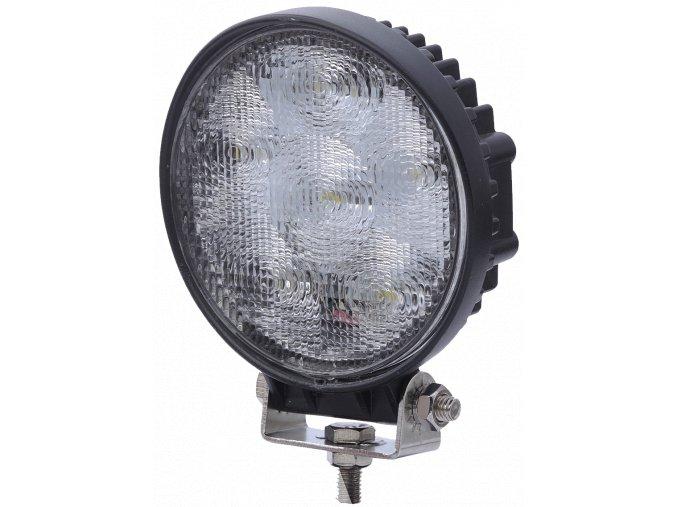 LED Epistar Lampa robocza, 18W (1100 lm), okrągła, 12/24V, IP67
