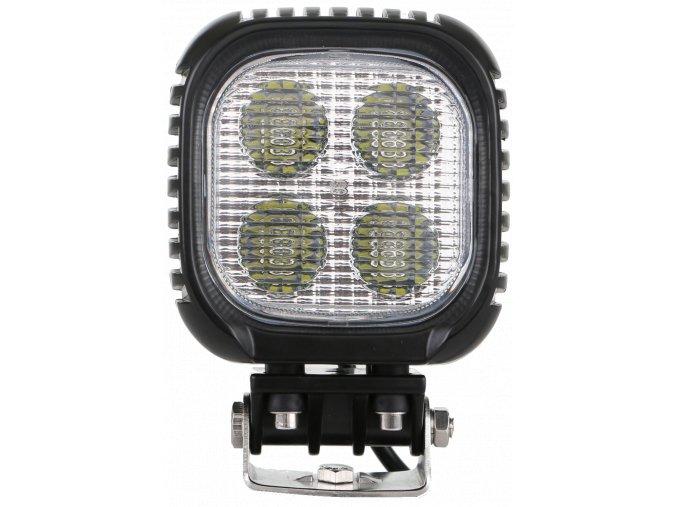 LED CREE Lampa robocza, kwadratowa, 40W, 5400 lm, 12-24V, IP67