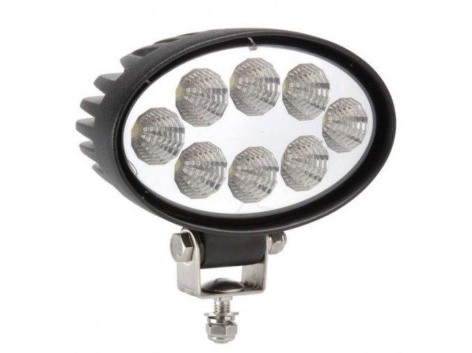 LED Epistar Lampa robocza, elipsowa, 24W, 12/24V, IP67