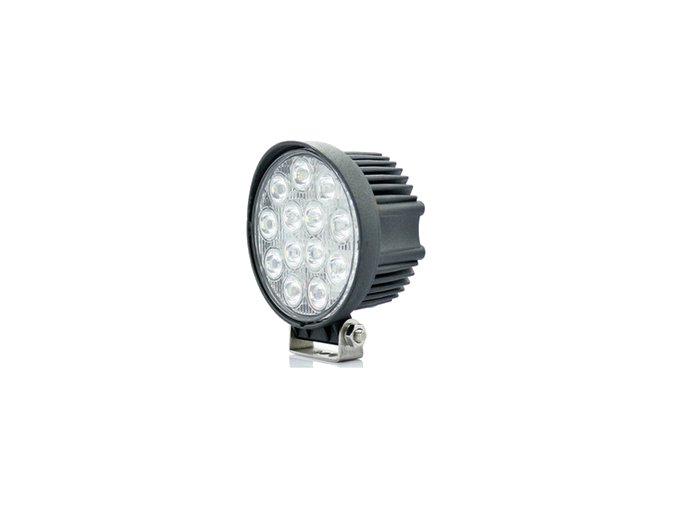 LED Epistar Lampa robocza, 39W, okrągła 2500 lm, 12-24V, IP67