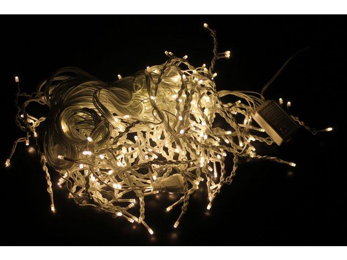 Oświetlenie świąteczne LED, 300 białych diod, 13W,  230V, IP44, RS-300WW