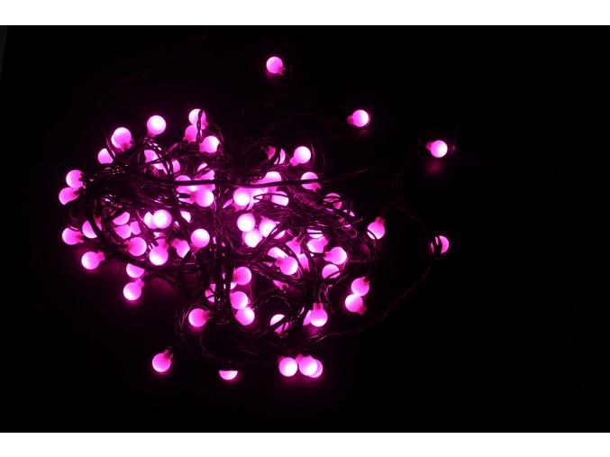 Oświetlenie świąteczne LED, 100 diod, 6W,  230V, IP44, RS-120P