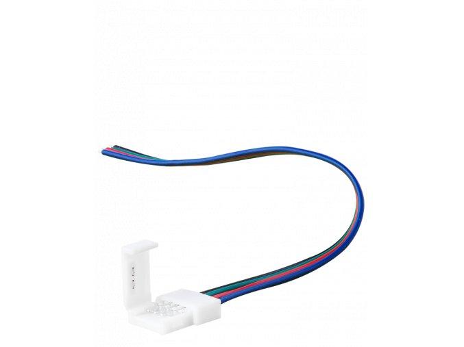 KONEKTOR do LED Taśm 5050 RGB, 15 cm