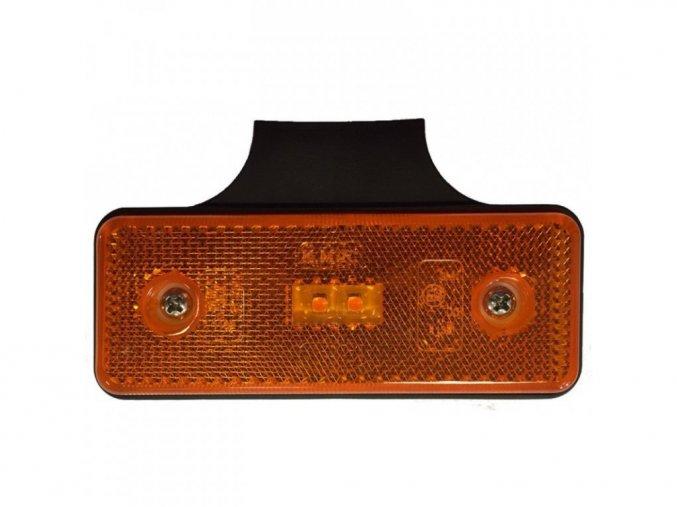 Znacznik boczny 2xLED światło do ciężarówki, 12-24 V