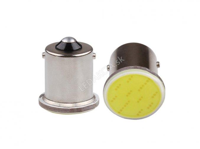 Żarówka samochodowa LED P21W CHIP COB