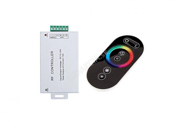 LED Kontroler RF  RGB, 144W/12A